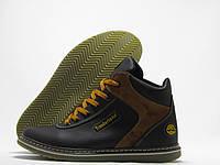 Ботинки мужские Timberland зимние, черные
