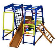 Спортивный комплекс для дома Акварелька для малышей