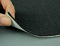 Карпет автомобильный Черный самоклейка (лист 43х100 см), толщина 2.2 мм, плотность 300 г/м2