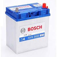 Аккумулятор  BOSCH S4018 40Ah, правый (+), Азия тонкие клеммы