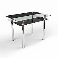Стол обеденный из стекла модель Денвер