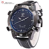 Мужские часы SHARK LED Digital White Sport Wrist