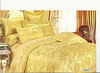 Комплект постельного белья Ailin жаккард с вышивкой
