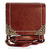 Стильная сумочка-клатч Lace Fendi бордовая
