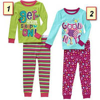 Пижама детская для девочки Гаранималс, Garanimals США (2,3,4,5 лет)