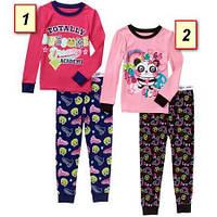 Пижама детская для девочки Гаранималс, Garanimals США (1,2,3,4,5 лет)