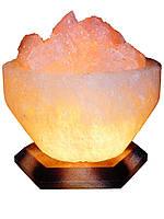 Соляная лампа, светильник Чаша Огня 4-5 кг