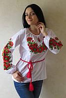 """Вышиванка """"Украинские маки"""""""