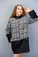 Пальто женское Ванда больших размеров