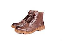 Ботинки мужские Timberland  Oxford High Espresso (тимберленд, оригинал)  коричневые