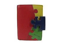 Портмоне женское Buono (кожа), 02-4955-RED, размер 100*135*30