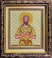 Б-1149 Икона святого Алексия, человека Божьего. Набор для вышивания бисером