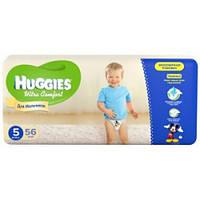 Підгузники дитячі Huggies Ultra Comfort 5, 12-22 кг 56 шт для хлопчиків