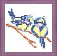 Канва с нанесенным рисунком РТ 009 (15х15)