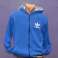 Мужской спортивный костюм Adidas - синий на замке