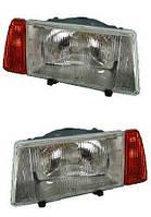 Блок фара левый оранжевый указатель поворота ВАЗ 2108,-09,-099 (пр-во ОАТ-ОСВАР)