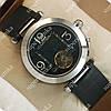 Элегантные мужские наручные часы Cartier de cartier Silver/Black 510