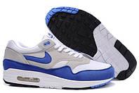 Кроссовки мужские Nike Air Max 87 (найк аир макс 87, оригинал) серые