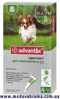 Средство от клещей для собак до 4 кг Адвантикс ®