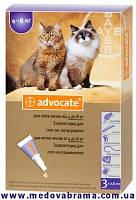 Средство от блох для котов 4-8 кг АДВОКАТ