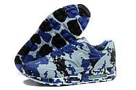 Кроссовки мужские Nike Air Max 87 Camouflage (найк аир макс 87, оригинал) синие