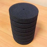 Фильтрующая губка/мочалка 8x14 cм, цилиндр среднепористая.