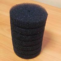 Фильтрующая губка/мочалка 10x15 cм, цилиндр крупнопористая.
