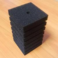 Фильтрующая губка/мочалка 8x8x14 cм, прямоугольная среднепористая.