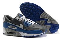 Кроссовки мужские Nike Air Max 90  (найк аир макс 90, оригинал) серые