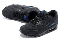 Кроссовки мужские Nike Air Max 90  (найк аир макс 90, оригинал) черные