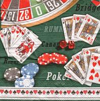 Декупажная салфетка Азартные игры 5315