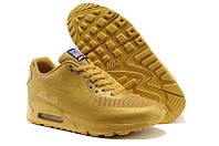 Кроссовки мужские Nike Air Max 90 Hyperfuse (найк аир макс 90, оригинал) золотистые