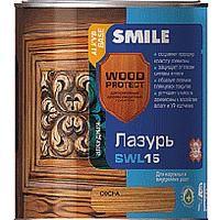 Smile Wood Protect SWL 15 Лазурь Черное дерево 0.75л
