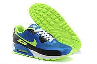 Кроссовки мужские Nike Air Max 90 Hyperfuse (найк аир макс 90, оригинал) синие