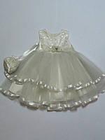 Нарядное пышное платье для девочек Турция 2-5 лет