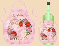 Фартук на бутылку 006