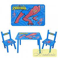 """Столик и 2 стульчика Bambi """"Человек паук"""" M 0294"""