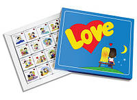 """Шоколадный подарок на 14 февраля. Набор конфет """"Love Is"""""""