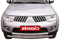 Дуги защитные передние (кенгурятники) Mitsubishi Pajero Sport 2009-2013