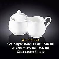 Набор: Сахарница & Молочник (Wilmax) WL-995024