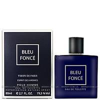 Новая Заря - Bleu Fonce (Темно-синий) EDT 80ml (туалетная вода) мужская