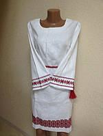 """Сукня жіноча """"Людимла""""білий льон"""