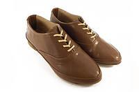 Кожаные женские туфли,мокасины
