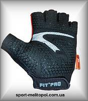 """Fit-Pro-06 R1 Pro - перчатки для фитнеса линейка """"для женщин"""" (черно-серые, черно-красные)"""