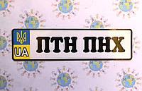 Наклейка на авто ПТН ПНХ