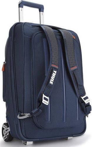 Надежный малый чемодан-рюкзак 2 в 1, 38 л. на 2-х колесах Thule Crossover (TCRU-115) 3201503 синий