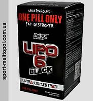 Nutrex Lipo-6 Black Ultra Concentrate 60 liqui-caps