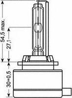 Автолампа D1S   ксеноновая Osram 66140CLC XENARC CLASSIC