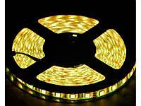 Гибкая светодиодная лента 12V 300L 5050 желтая