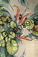 Схема для вышивки бисером «Японский пруд»
